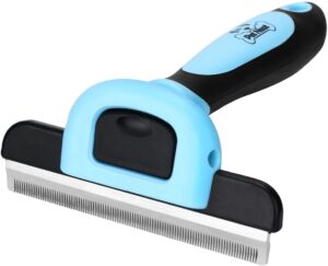 Pet Grooming Brush Effectively Reduces Shedding by Up to 95%