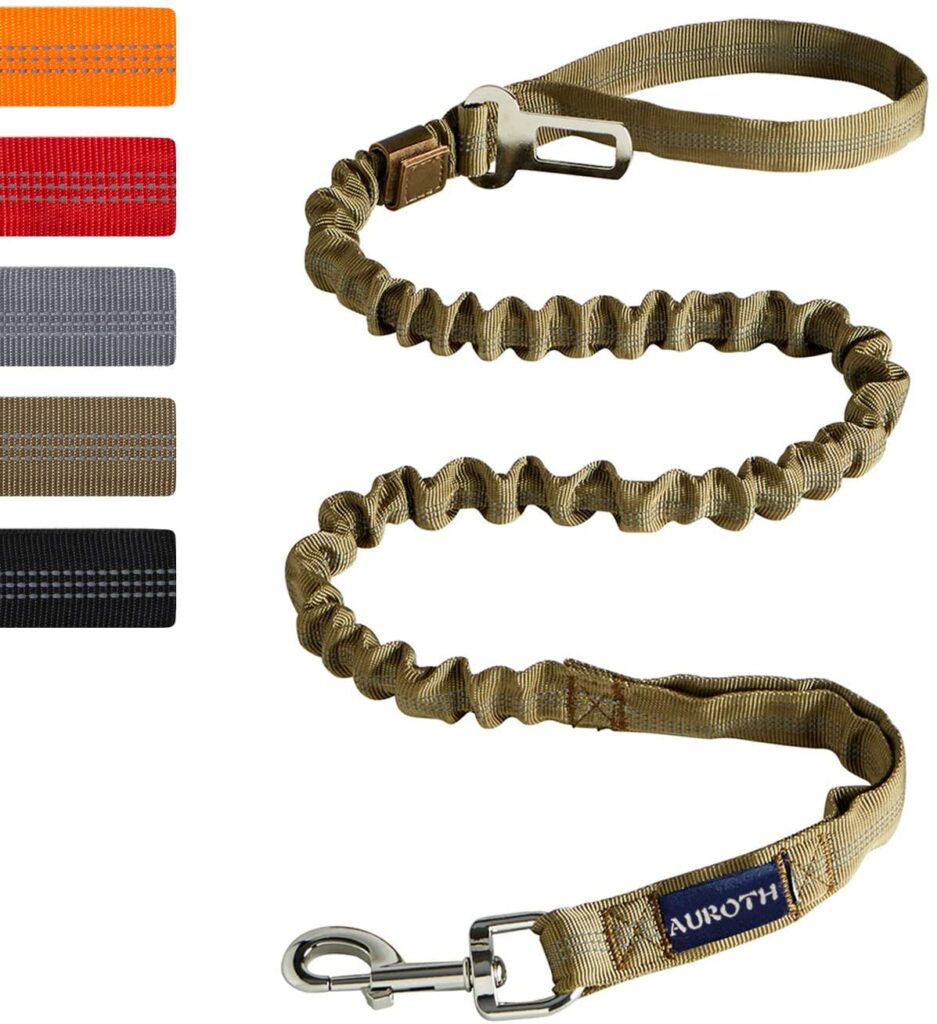 AUROTH Heavy Duty Bungee Dog Leash