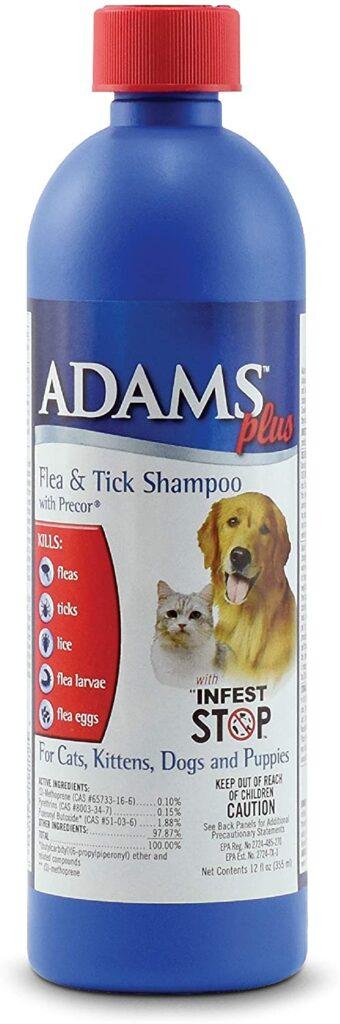 Adams Plus Flea & Tick Shampoo