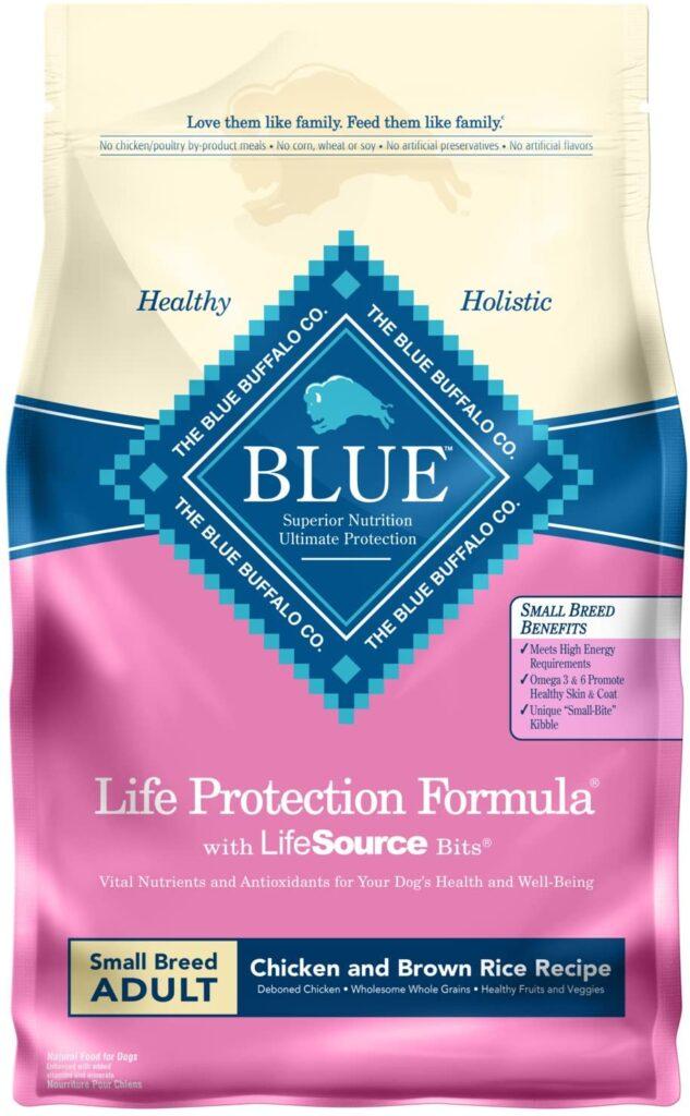 Blue Buffalo Life Protection Formula Natural Adult Small Breed Dry Dog Food