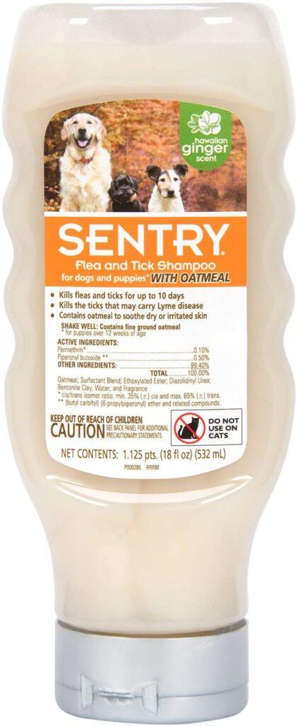 Sentry Flea & Tick Shampoo