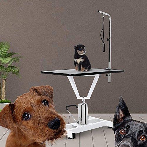 iKayaa Adjustable Large Pet Dog Grooming Table