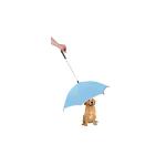 PET LIFE Pour-Protection Dog Umbrella