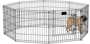 MidWest Homes for Pets Folding Metal Exercise Pen