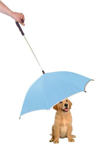 PET LIFE Pour-Protection Rain Pet Dog Umbrella