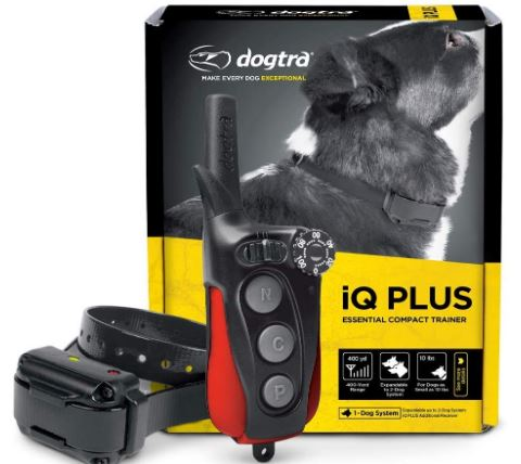 Dogtra iQ Series iQ Rechargeable Waterproof Receiver 400-Yard Compact Dog Training E-Collar