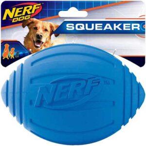 NERF-DOG-RIDGED-SQUEAKER-FOOTBALL