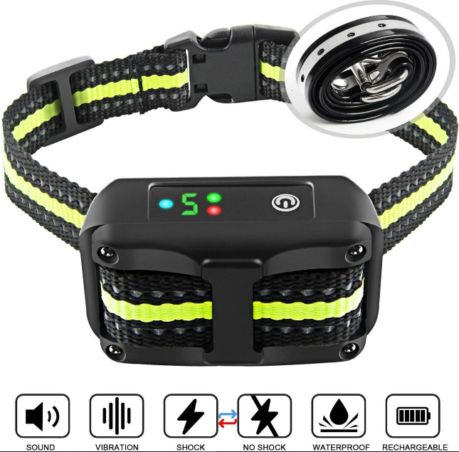 Authen No Harm Bark Collar with Beep and Vibration Mode