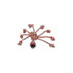 Mammoth's SnakeBiter Spider 11-inch Rope Toy