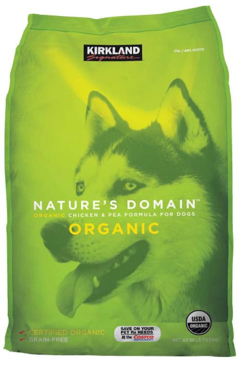 Kirkland Organic Dog Food