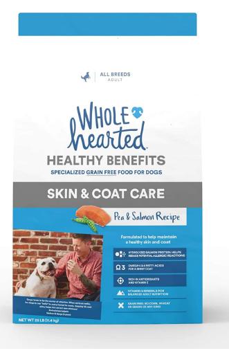 wholehearted dog food reviews