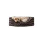 Furhaven Pet – Round Oval Calming Orthopedic Lounger