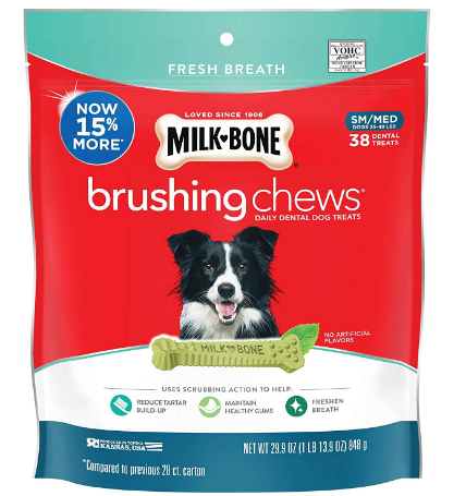 dental hygiene chews and treats for dogs