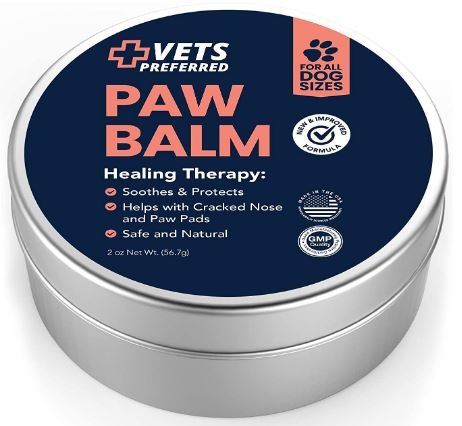 Vets Preferred Advanced Pad Protection   VETERINARIAN-GRADE Dog Paw Balm   Heals, Repairs, and Moisturizes Dry Noses and Paws   Effective   Ideal for...