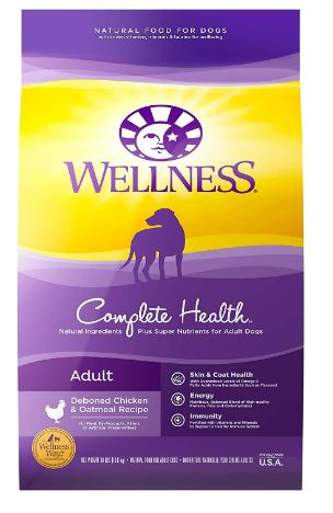 Wellness Complete Health Dry Dog Food Review