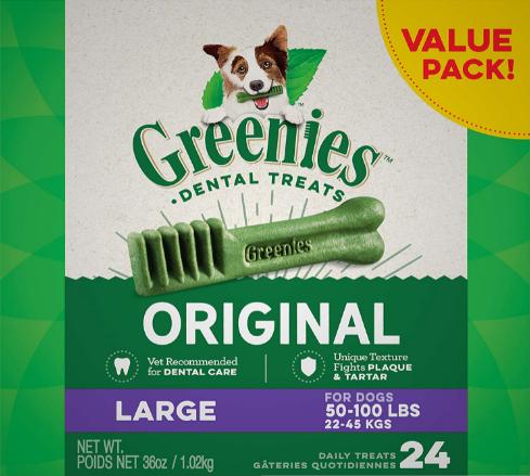 Greenies Original Large Dental Care Chews